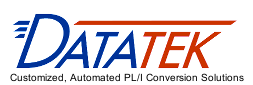 Datatek - Customized, Automated PL/I Conversion Solutions